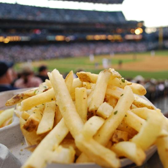 comida beisbol