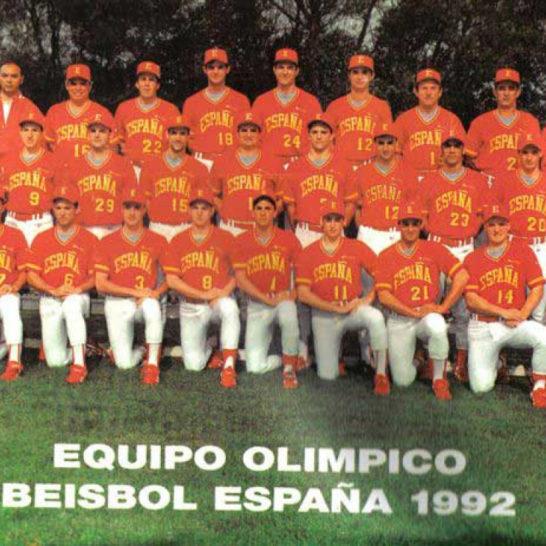españa 1992 beisbol