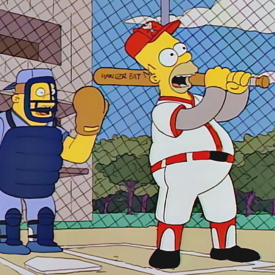 los simpson beisbol